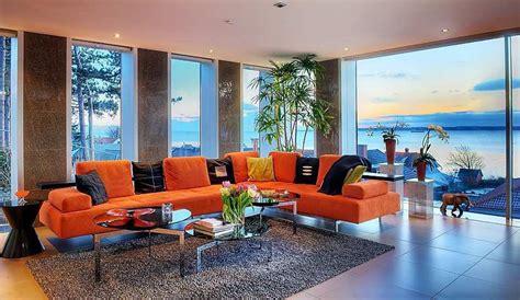 stunning modern ocean view home  open floor plan