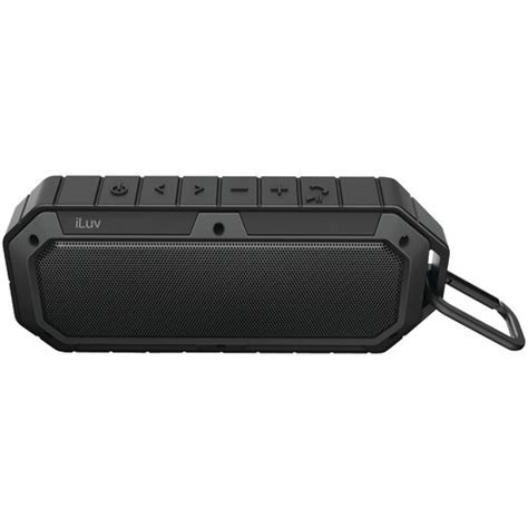 rugged bluetooth speakers iluv collision rugged bluetooth speaker