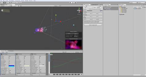 editor layout unity particle systems part 3 unity s shuriken david jimenez