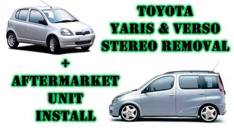 toyota yaris petrol 99 05 t to 05 haynes publishing toyota yaris verso 99 05 stereo removal aftermarket headunit install youtube