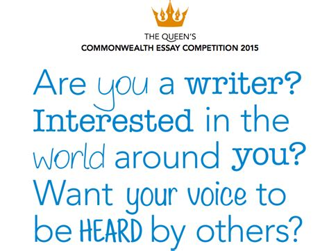 Commonwealth Essay Writing Competition by 2015 S Commonwealth Essay Competition For Writers From Commonwealth Nations Win An