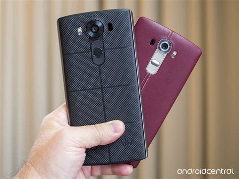Hp Lg V10 in pictures lg v10 versus lg g4 android central