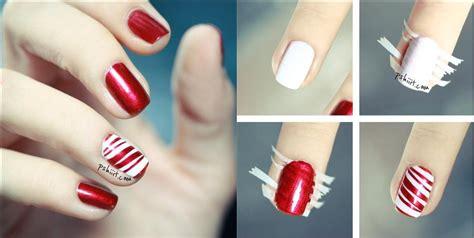 easy way to do nail art