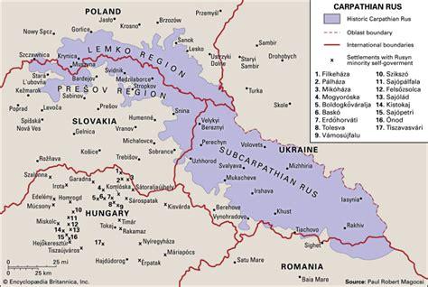 carpathian rus a historical atlas books rusyn britannica