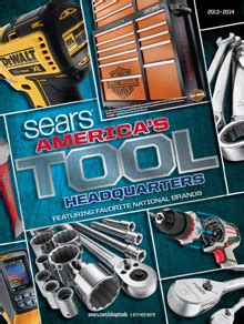 handtools mail sears tool catalog order the craftsman tool catalog from sears