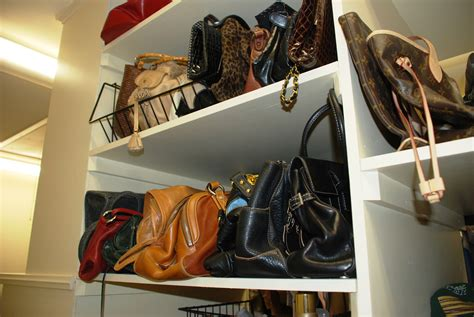 how to organize purses in the closet how to organize your closet house of house of