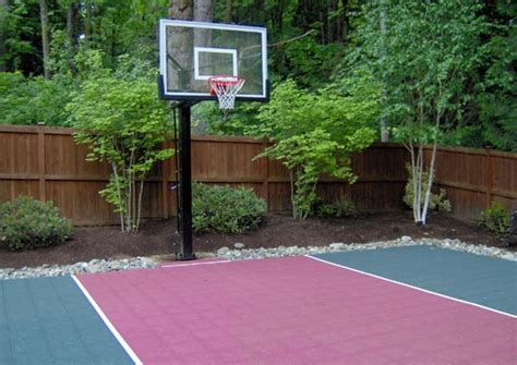 Sports Court Great For The Backyard Could Even Play Backyard Cout Ideas