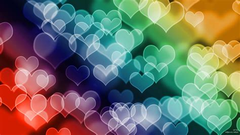 colored hearts colored hearts hd wallpaper 187 fullhdwpp hd