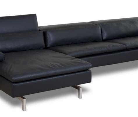 loungebank leder loungebank zwart leer dekleinelunchfabriek