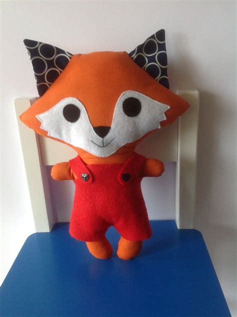 Handmade Soft Toys Free Patterns - handmade fox stuffed made by by kasanne