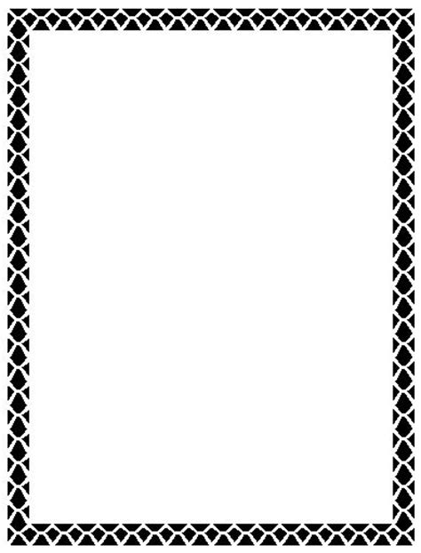 word page borders clipart best