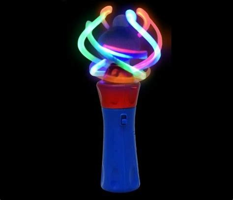 light up wand toy led sensory disco spinner wand sensory spinner wand