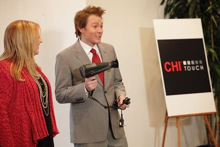 Chi Touch Hair Dryer farouk shami debuts chi touch dryer on