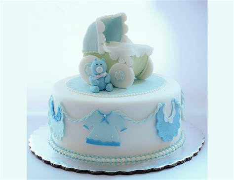 Fondant Baby Shower by Pastel Baby Shower Ni 241 O Fondant Imagui
