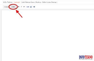 cara membuat html yang keren cara membuat sitemap daftar isi blogger yang keren