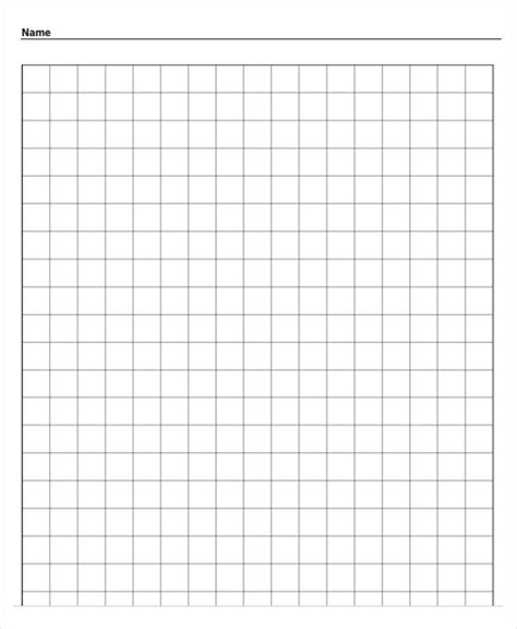 printable graph paper for math printable grid paper template 12 free pdf documents