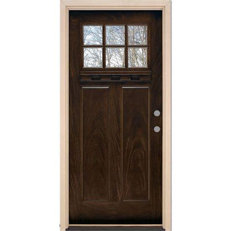 Feather River Doors 37 5 In X 81 625 In 6 Lite Craftsman Feather River Interior Doors
