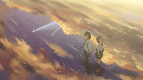 wallpaper anime kimi no na wa kimi no na wa your name hd wallpaper 2057864