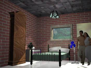 habitacion 3d habitacion 3d max en vivienda unifamiliar proyectos en planospara