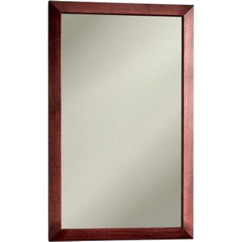 cherry medicine cabinet surface mount city 16 5 in w x 26 5 in h x 5 25 in d recessed or