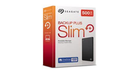 Seagate Backup Plus Slim 1tb Harddisk External U845 seagate backup plus slim 1tb portable external drive