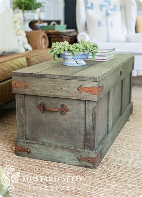 coffee table knock pottery barn knock trunk coffee table follow the
