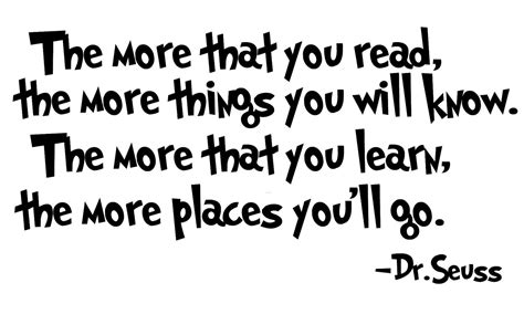 printable dr seuss reading quotes dr seuss quote read