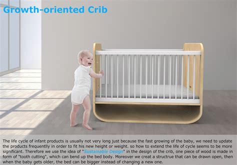 design milk baby bed the growing bed yanko design