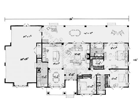 Single Level House Plans With Photos by Single Level Ranch House Plans E Story House Plans