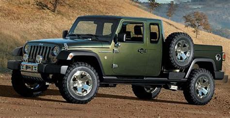 jeep wrangler truck concept review spy