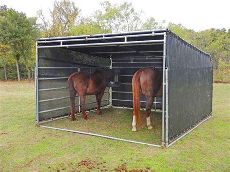 portable canopy shade small horse barns horse shelter