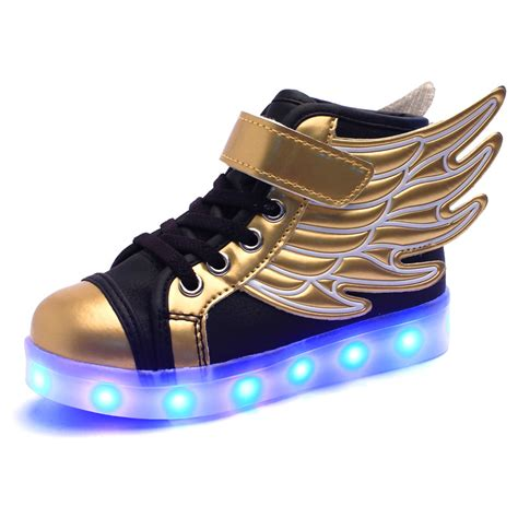 Light Up Shoes For by Light Up Shoes For Luminous Wings Led Shoes Mcbshoes