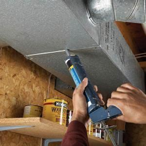 plug leaky ducts conditioning diy  crafts  cleanses