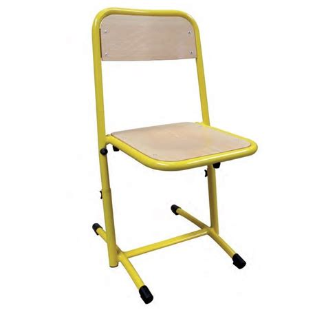 chaise reglable chaise scolaire r 233 glable mobilier scolaire