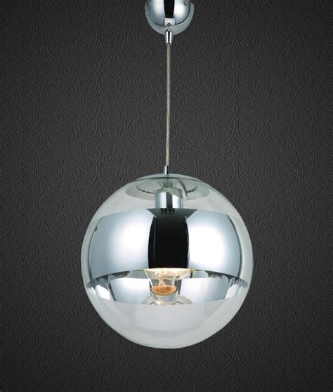 Mirror Pendant Light Glass Pendant With Chrome Band Cheaper Than Tom Dixon Mirror Pendants