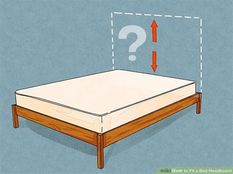 4 ways to fit a bed headboard wikihow