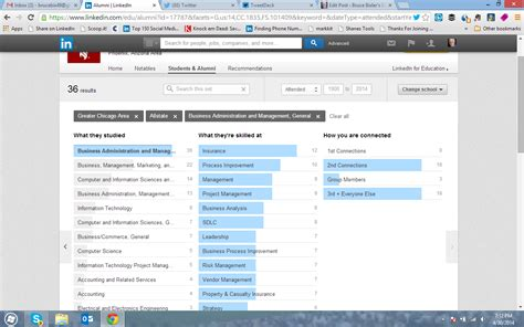 Search For On Linkedin Skills On Linkedin How To Find Them In The Alumni Function