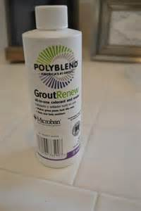 grout renew colors of polyblend grout renew review