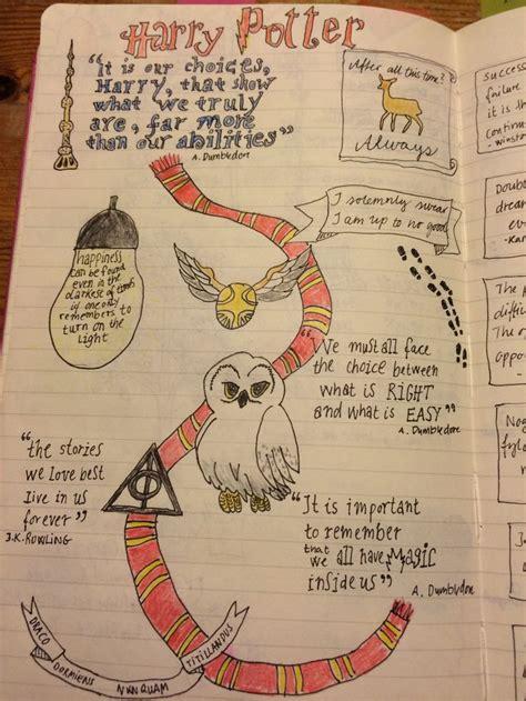 Harry Potter Deko 4314 452 besten planner harry potter bilder auf
