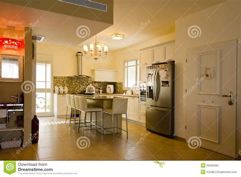 warm colors kitchen royalty free stock photo image 20493395