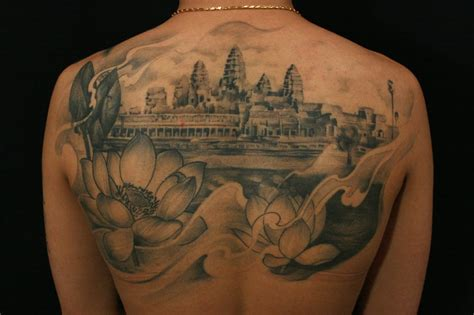 angkor wat tattoo 12 venerable angkor tattoos tattoodo