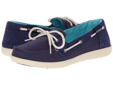 crocs boat shoes crocs walu boat shoe