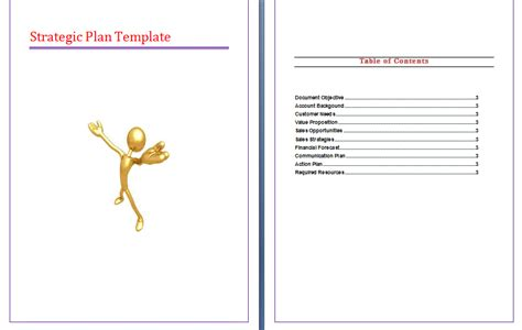 strategic plan template communication plan communication plan template education