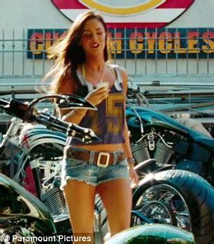 Megan Fox Transformers Motorrad by Las Escenas De Megan Fox En Transformers Taringa