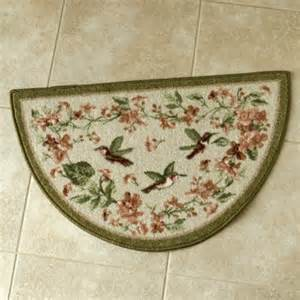 kitchen slice rugs hummingbird floral kitchen slice rug shop nwf