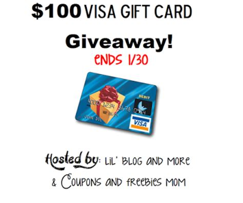 Visa Gift Card Giveaway - 100 visa gift card giveaway ends 1 30 up run for life