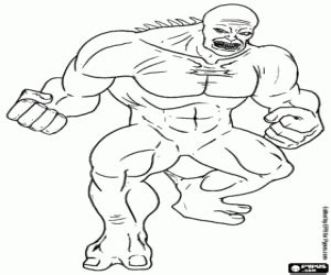 hulk abomination coloring pages supervillains coloring pages printable games