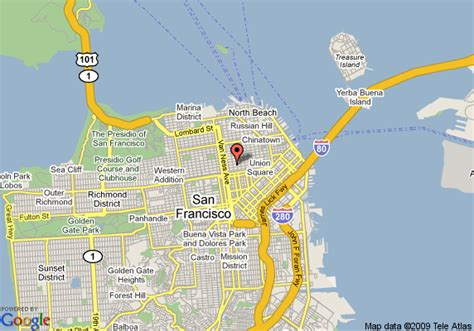 san francisco map nob hill nob hill san francisco map michigan map