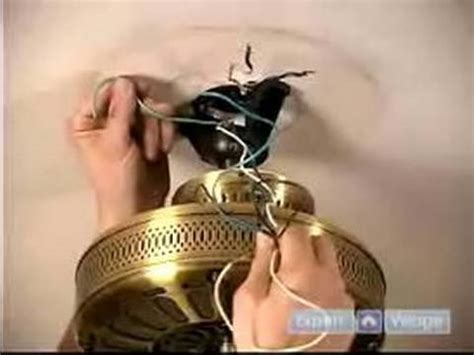 how to put in a ceiling fan how to install ceiling fans how to hang the fan attach