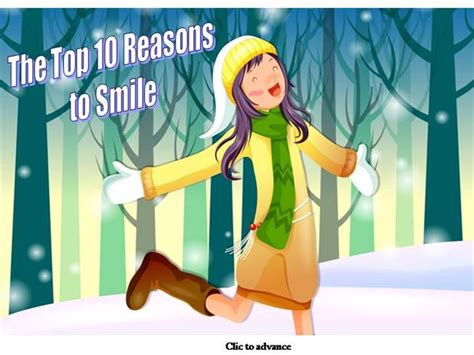 10 Reasons To Smile In by Top 10 Reasons To Smile Authorstream